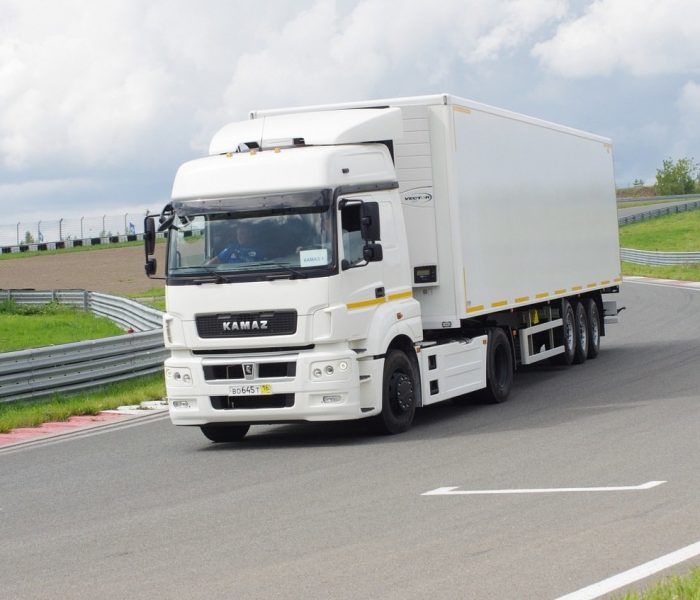 Поездки за границу на грузовиках КамАЗ